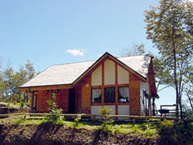 Cabaña en Cucao, cercana al Parque Nacional Chiloé - Huillinco - Natuur/eco-lodge