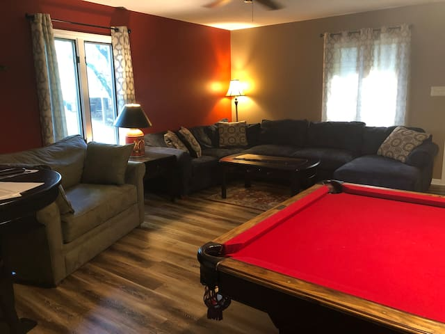 Tega Cay In-Law type suite with 2 large rooms!