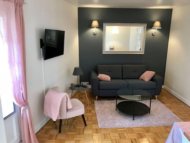 Appartement de charme vieux Chinon 70m2 Refait