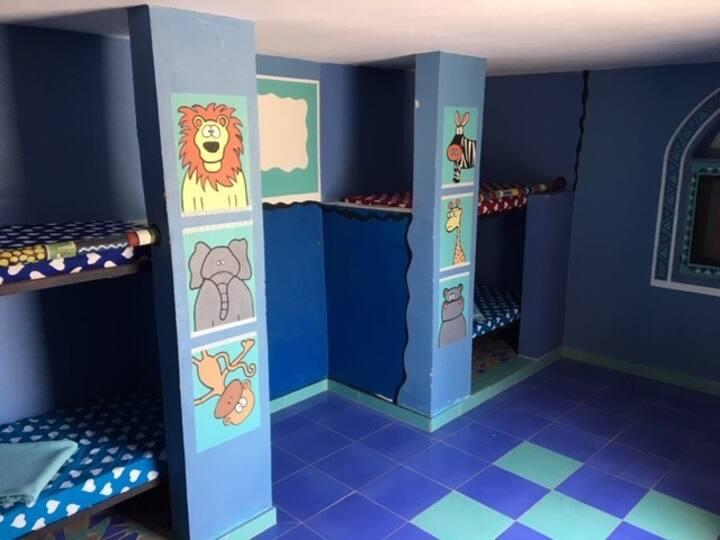 Unique Fun Family Space in Private Unit