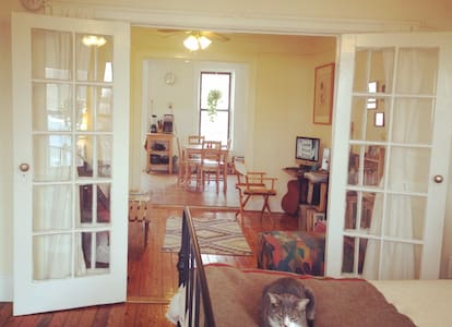 July '16 in cozy South Slope 1.5 br - Brooklyn
