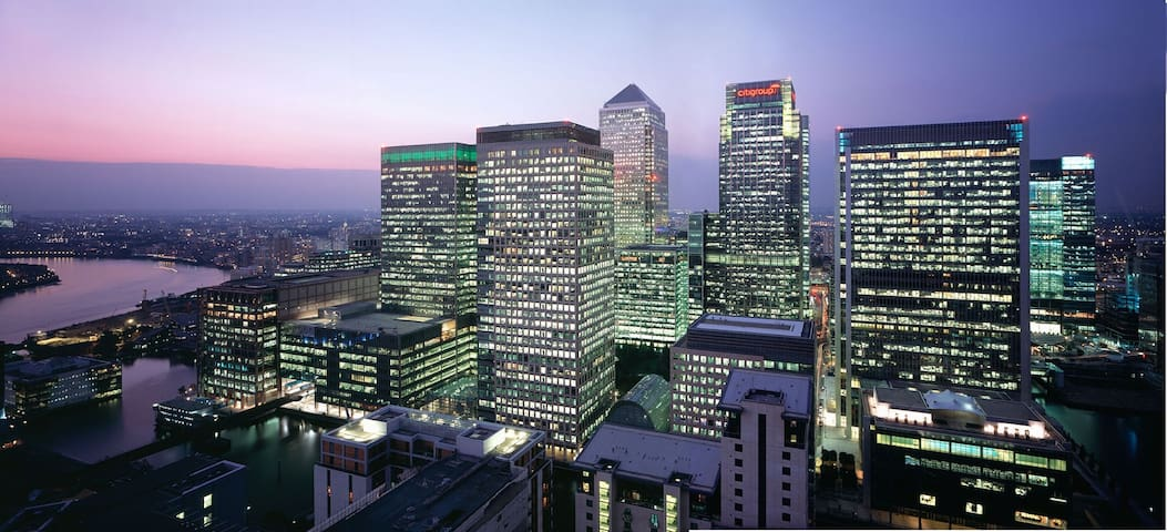 Bed in Canary wharf - Londres - Inny