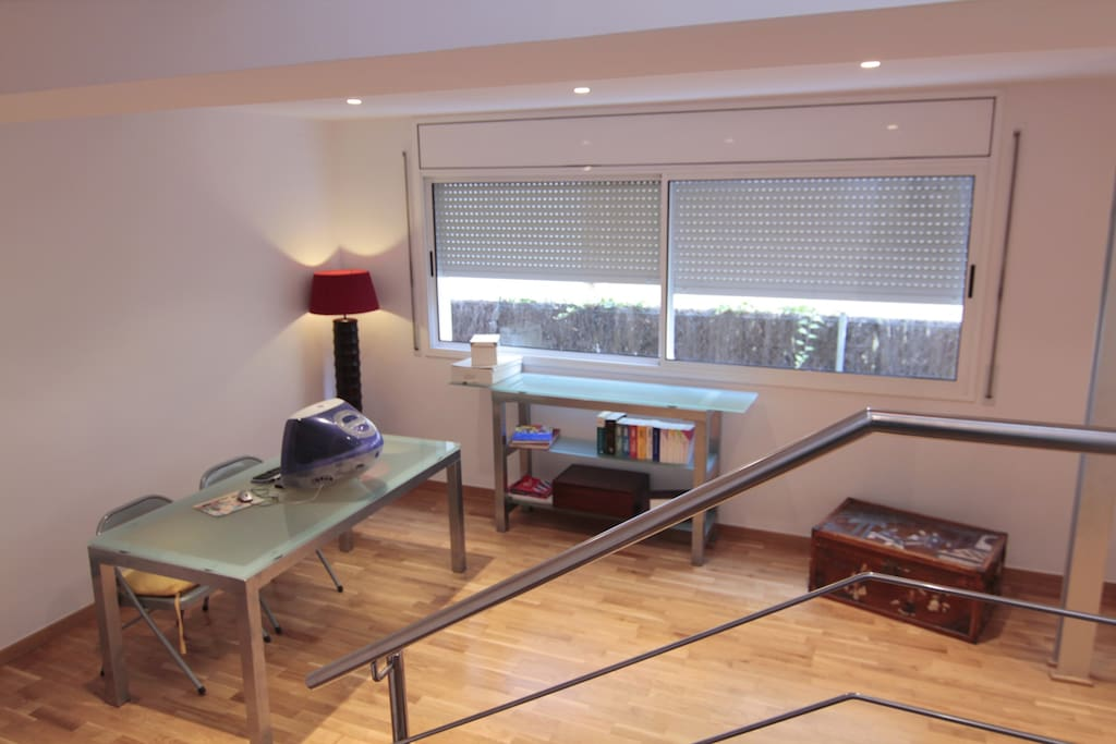 Double room with working space