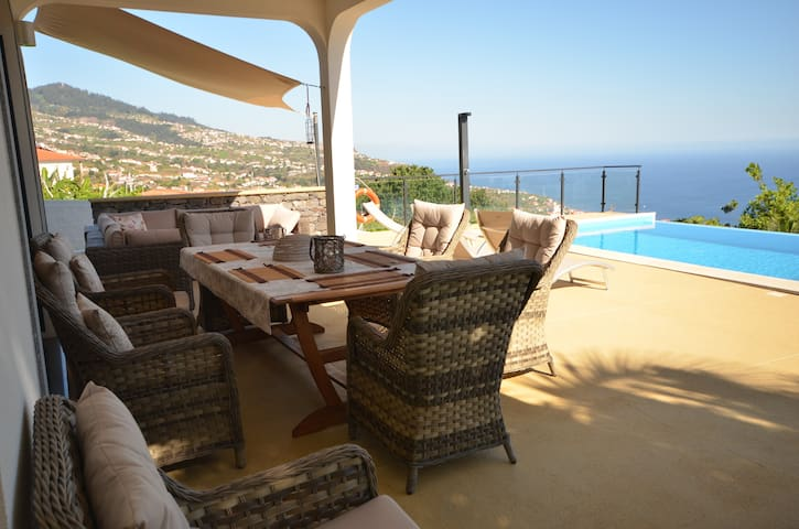 17°West solar heated pool villa in Estreito - Estreito da Calheta - Vila