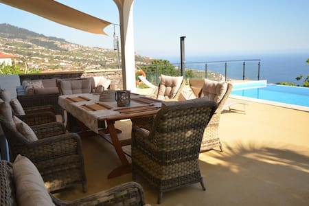 17°West solar heated pool villa in Estreito - Estreito da Calheta - 別荘