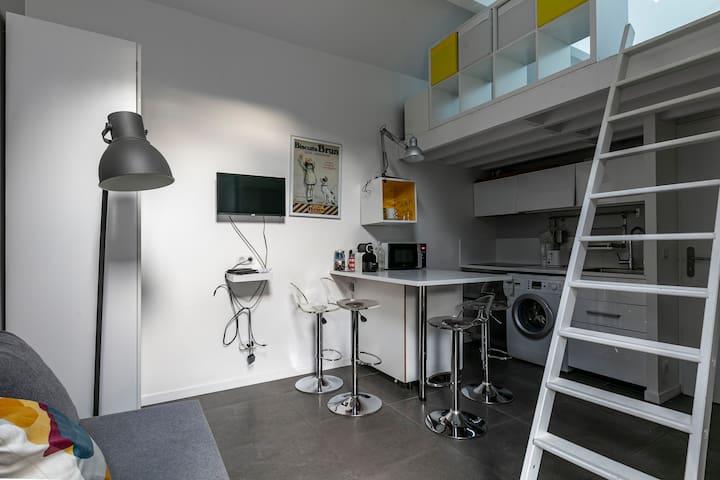 Studio neuf très proche de Grenoble