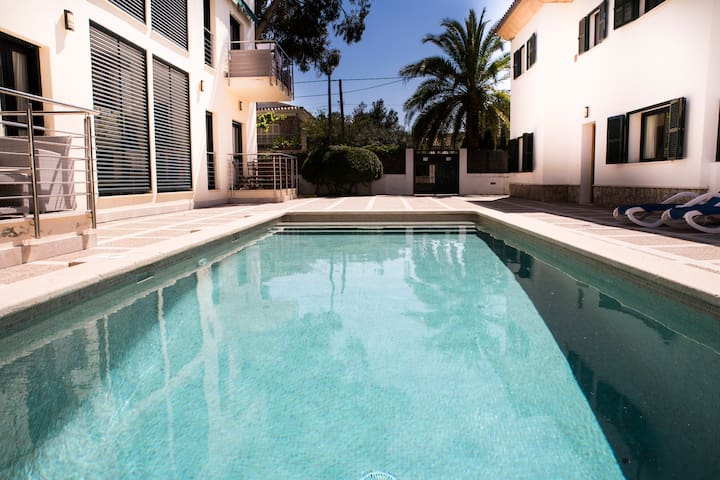 Cozy Duplex with pool 50 meters from the beach - Pollença - Appartement