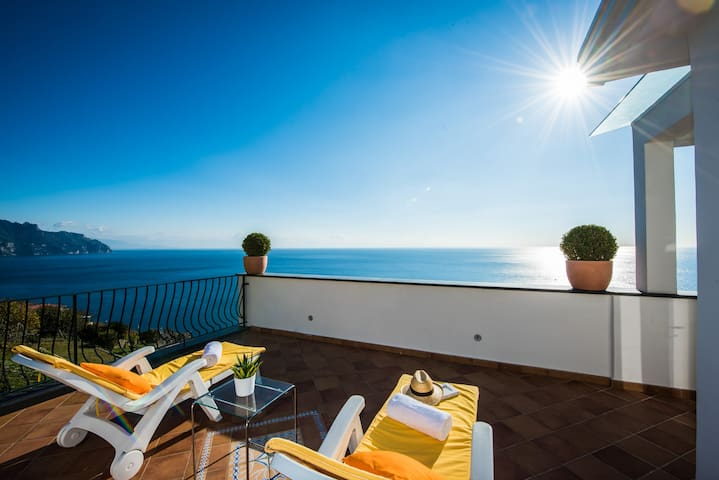 Villa Giovanna Amalfi, sea view