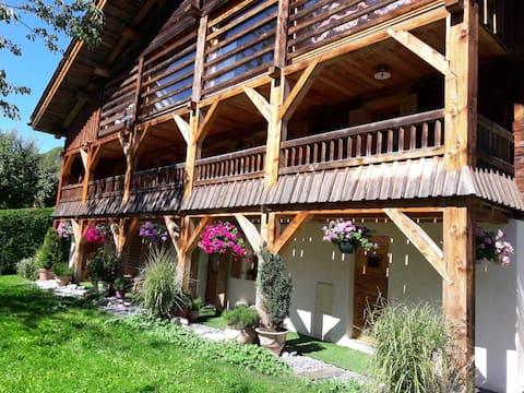LE DAHU: apartment in authentic chalet