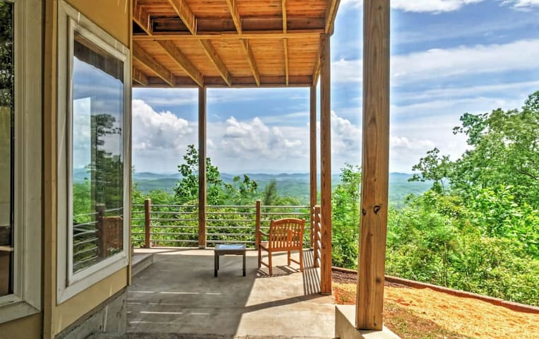 Private 3BR Little River Canyon Home on 5 Acres! - Gaylesville - Casa