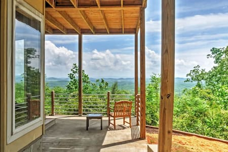 Private 3BR Little River Canyon Home on 5 Acres! - Gaylesville - Huis