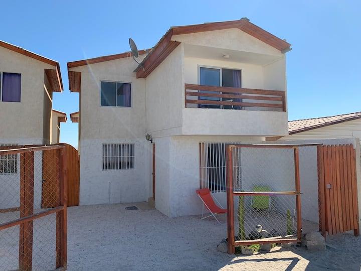 Casa amoblada a pasos de Bahía Inglesa y Caldera