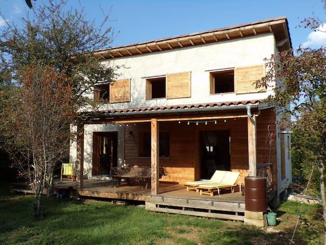 Maison écologique Gorges de l'Ardèche