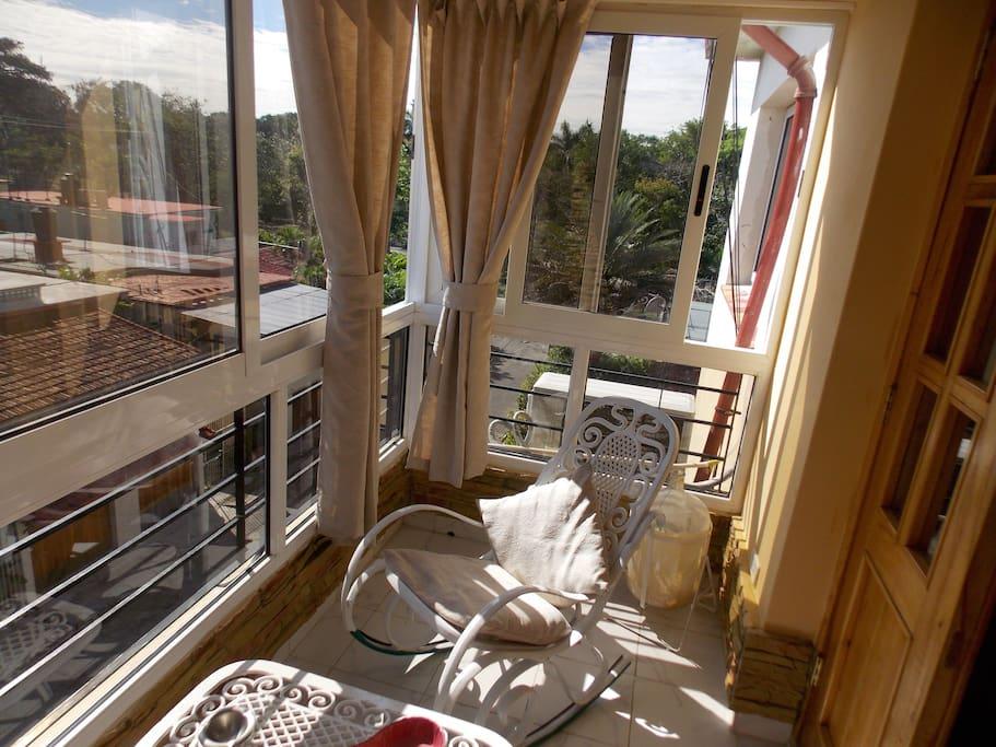 Terrace/Terraza para disfrutar del sol
