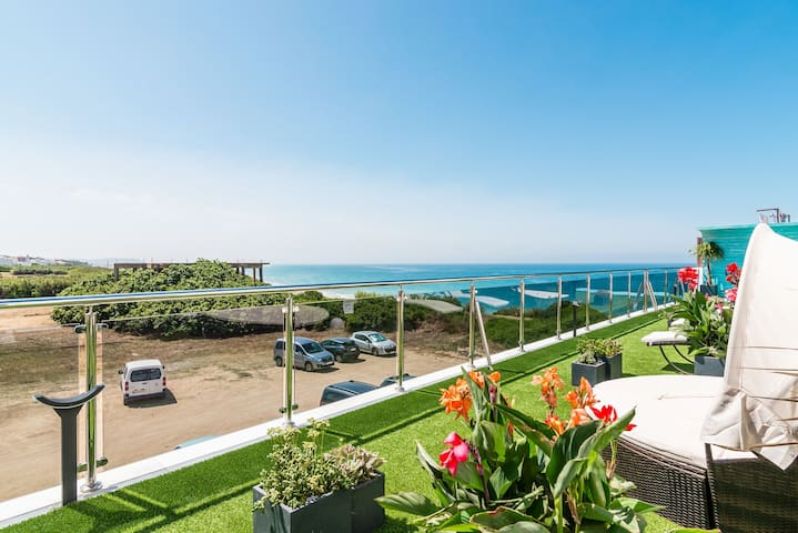 Modern, with roof terrace and very close to the beach - Apartamento Caviar