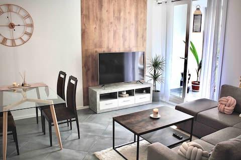 Bel appartement 75m2 en résidence- parking gratuit