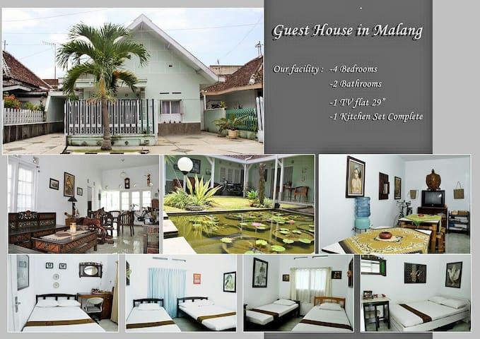 Guest House Etnic Malangan Nuansa nyaman - Jawa Timur, ID - Dom