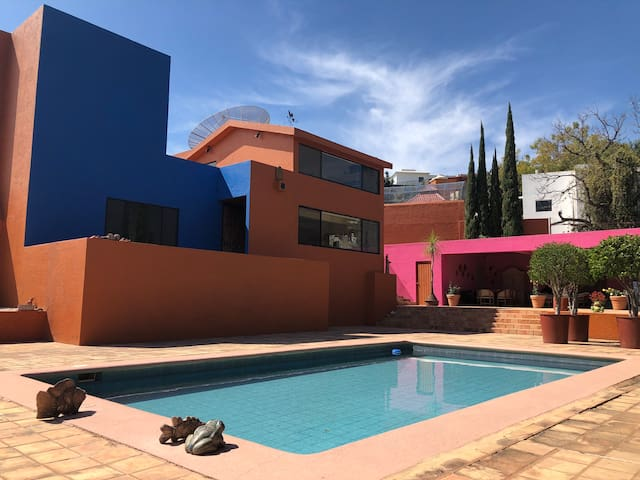 4 BR mountain view house at Oaxaca's top location