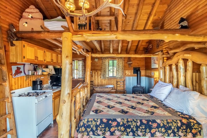 """NEW!! """"The Bear Collector"""" Cabin #2 @ MLL"""