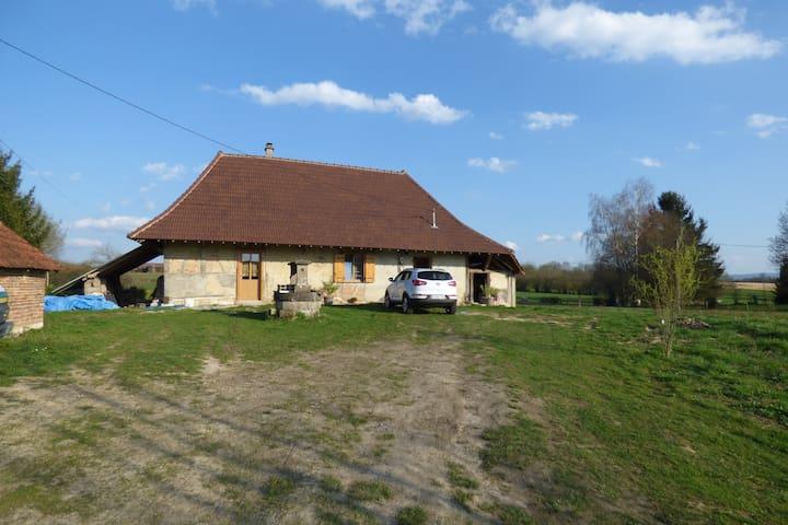 maison type bressanne rennovèe - Sagy - Dům
