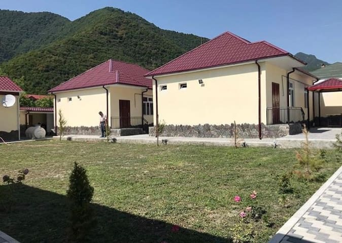 Alp hotel qax gakh azerbaijan Ilisu