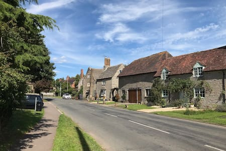 Peace and tranquility in a pretty English village
