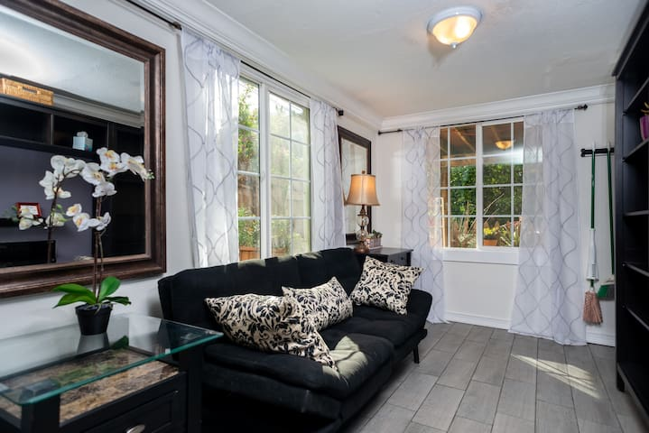 Remodeled Studio with Jacuzzi and Fireplace