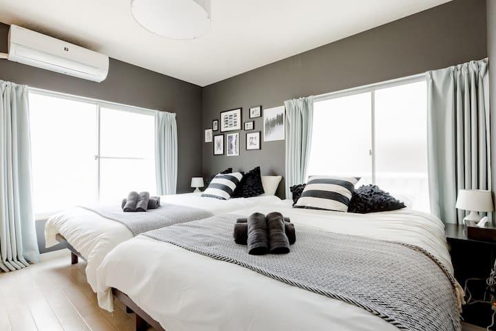 2F Bedroom 1 2 double bed