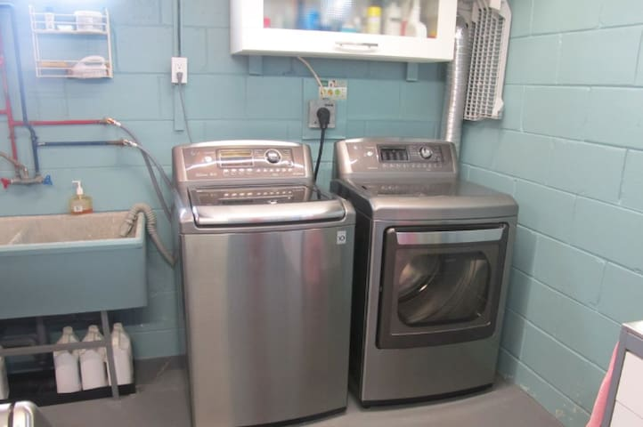 Shared laundry (FREE) in the basement