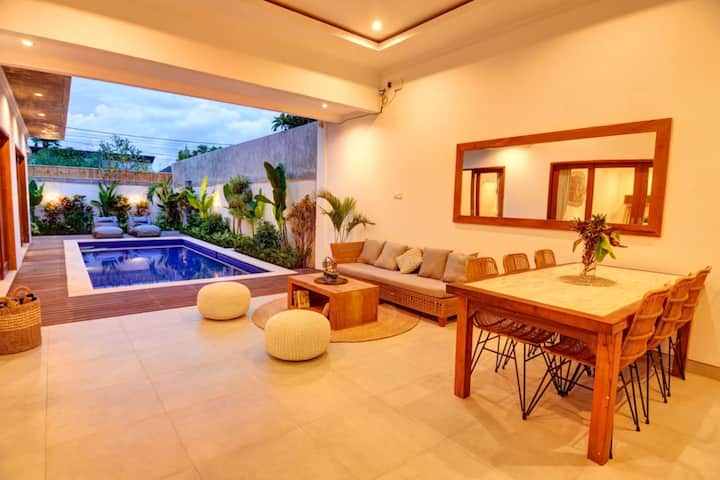 Double room #2 in brand new villa center of Canggu