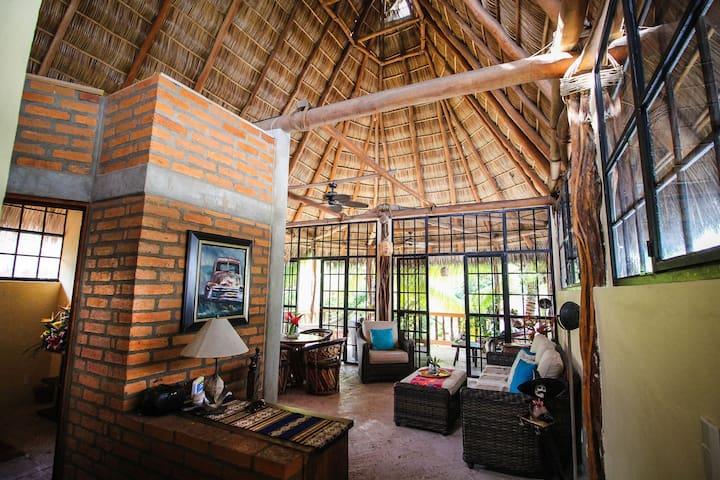 Beautiful Palapa Style Apartment