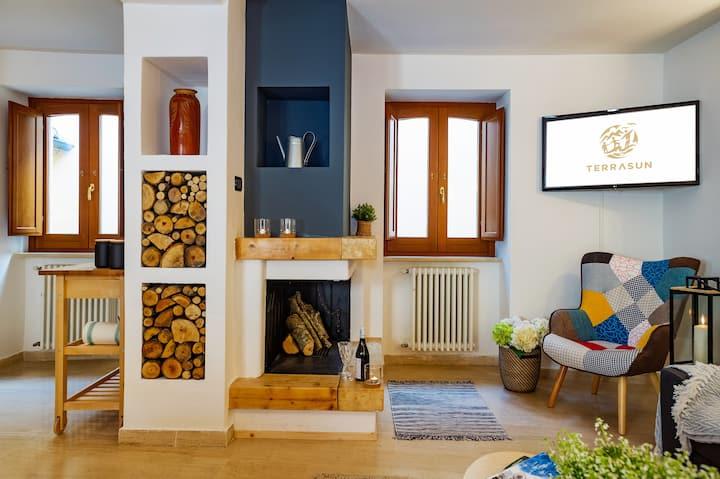 Romantický apartmán v srdci středověké vísky