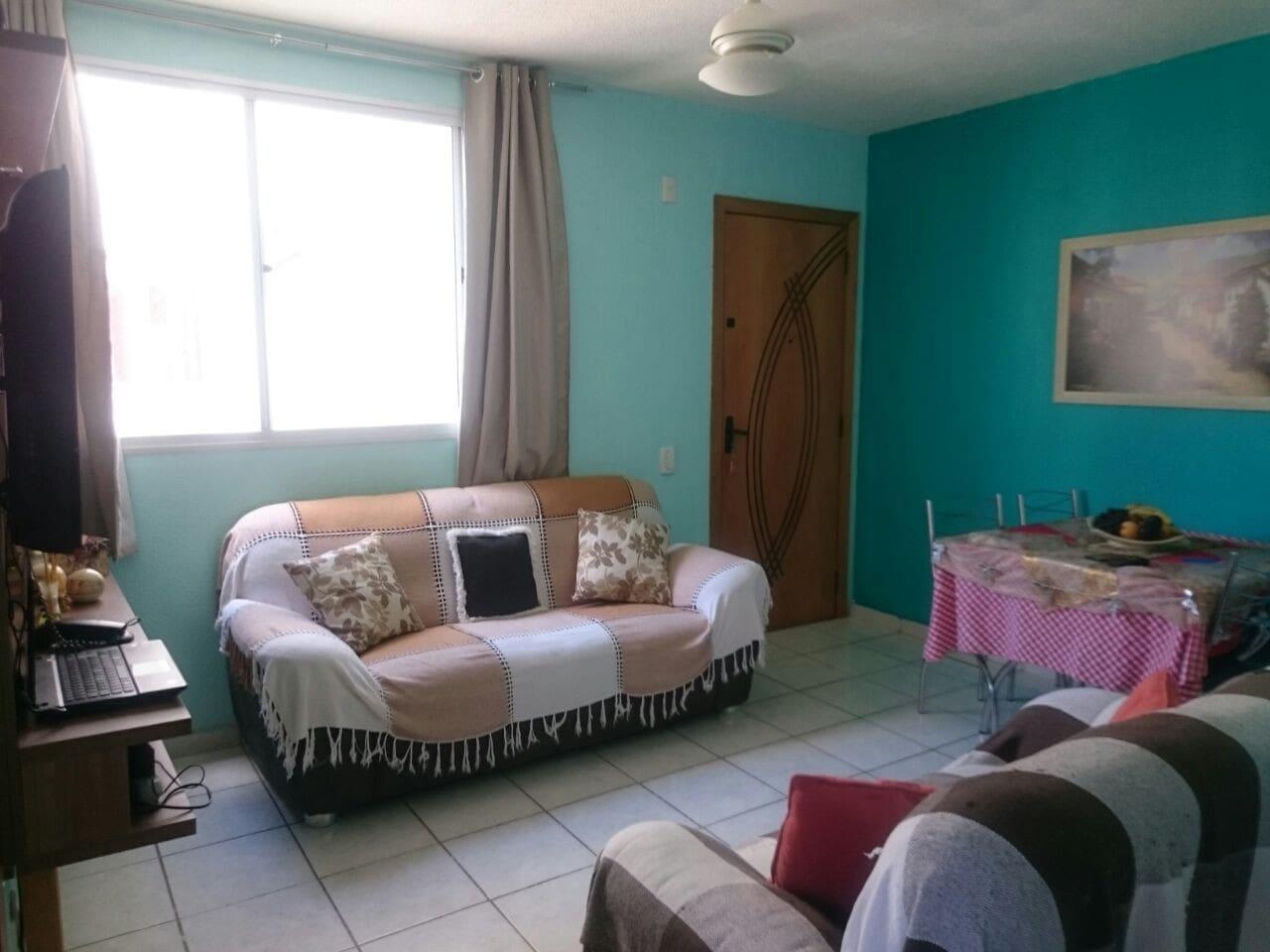Sala ampla onde poderá colocar os dois colchões
