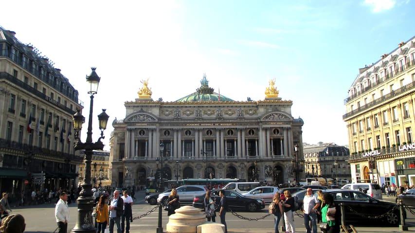 quartier de l'Opéra Garnier