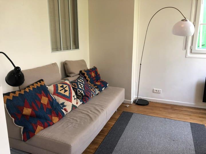 Appartement cosy Les Buttes Chaumont Paris
