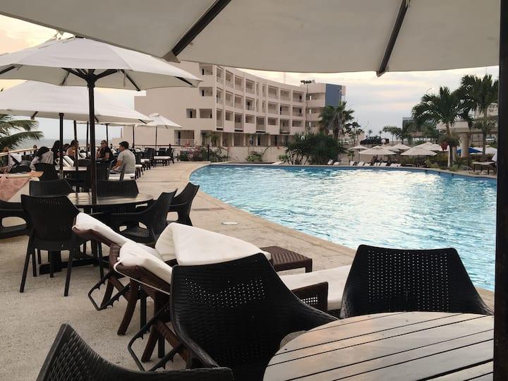 OceanClub Hotel Resort/Alquiler/vista al mar/apart