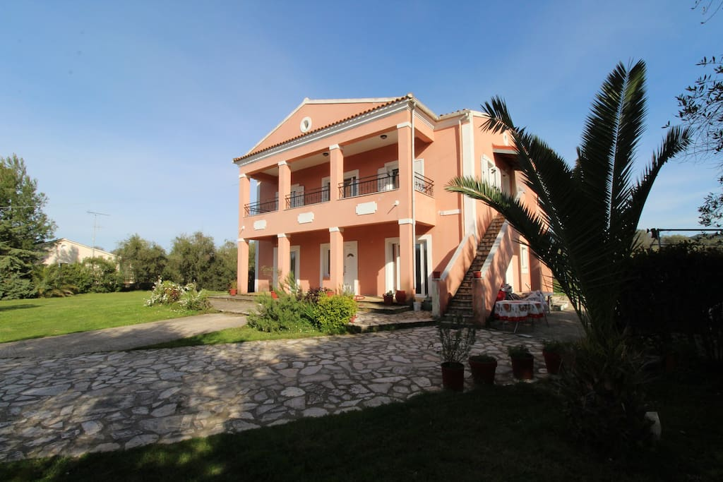 Karoubis House and garden