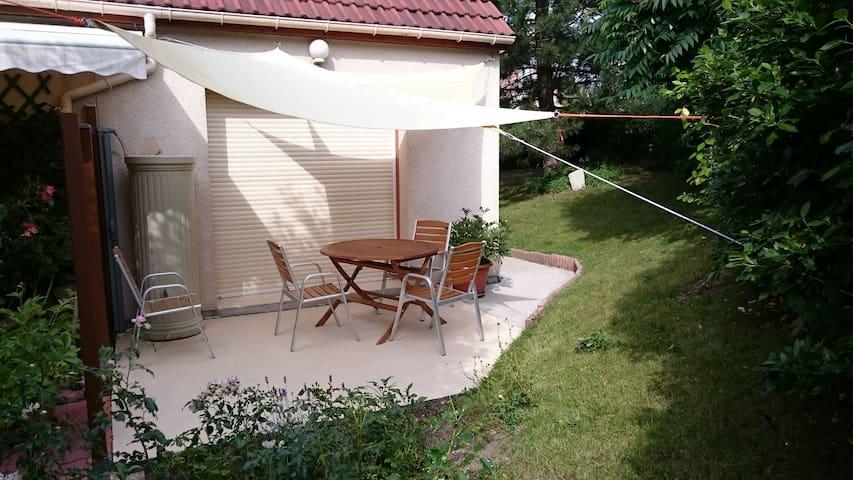 Maisonnette calme et proche de la Loire