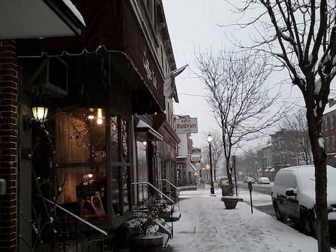 Coffee Talk in Historic Norristown, PA