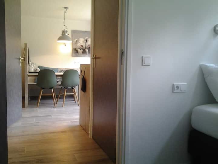 Luxe 2-4 persoons appartement met eigen ingang