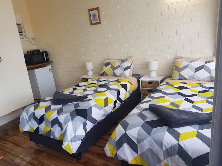 Furnished Double Room (two separate king beds)