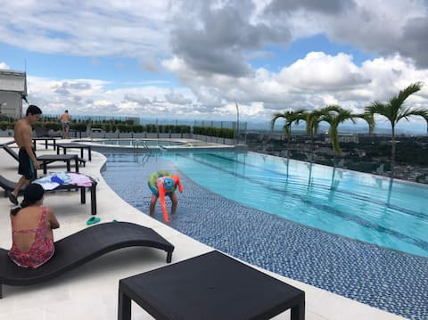 Well-located apartment with pool