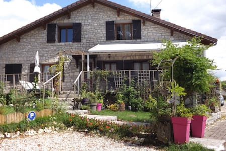 B&B pour 2, 3 ou 4 - Chambre Chalain - Songeson - Bed & Breakfast