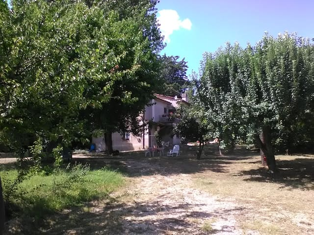 Casetta rurale in collina