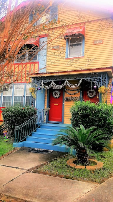 HISTORIC UPTOWN NEW ORLEANS HOME