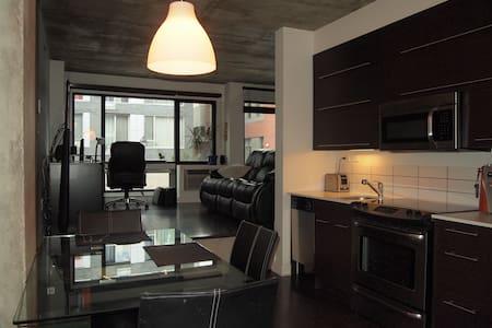 Cozy condo near downtown Montreal - Montreal - Loft