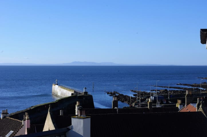 Pittenweem apartment with sea views - Pittenweem - Huoneisto