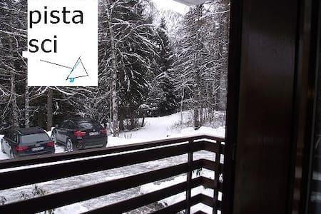 Neve e piste, vicino a Campiglio! - Dimaro - Apartamento