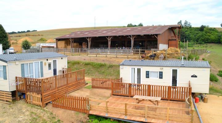 Bungalow 5 places à la ferme