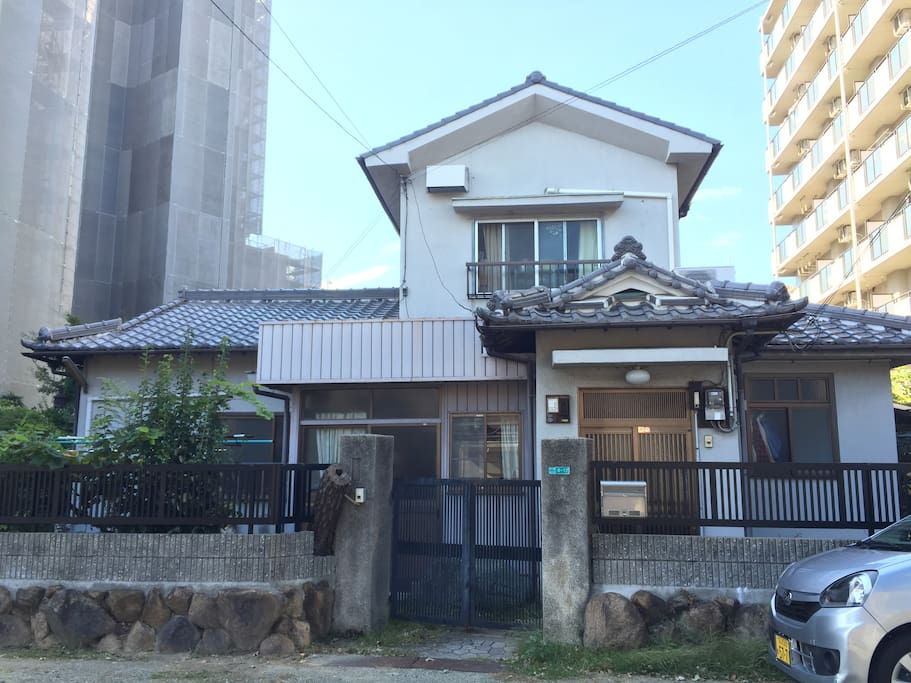 Outlook of my home :) it was builded over 50 years ago.